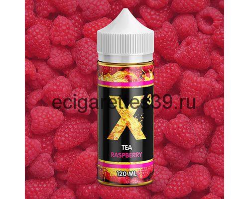 Жидкость X-3 Tea Raspberry, 120 мл.