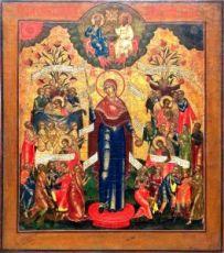 Всех Скорбящих Радость (копия старинной иконы)
