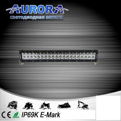 Двухрядная светодиодная балка комбинированного свечения 200W COMBO AURORA ALO-D1-20-P4E4D