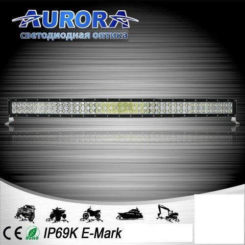 Двухрядная светодиодная балка комбинированного свечения 400W COMBO AURORA ALO-D1-40-P4E4D