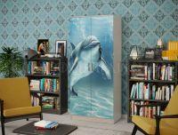 Шкаф 2-х створчатый (Дельфин)