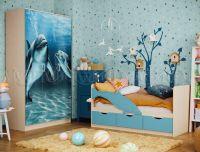 Шкаф 3-х створчатый (Дельфин)