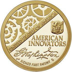 Американские Инновации 1 доллар США  2018  монета из  новой серии Монетный двор на выбор