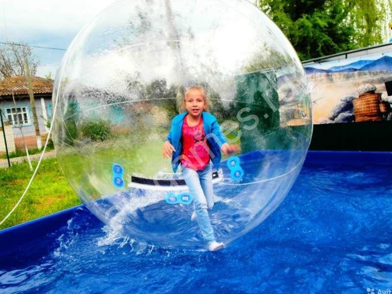 Водный шар/аквазорб ТПУ(прозрачный)