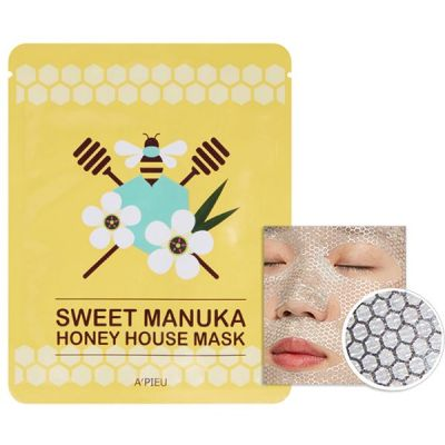 Маска для лица тканевая A'PIEU Sweet Manuka Honey House Mask 23гр
