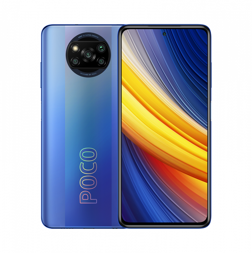Смартфон Xiaomi Poco X3 Pro 8/256GB (NFC), Frost Blue