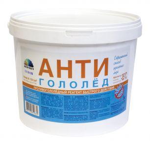 Антигололед  (противогололедный реагент быстрого действия)  10 кг.