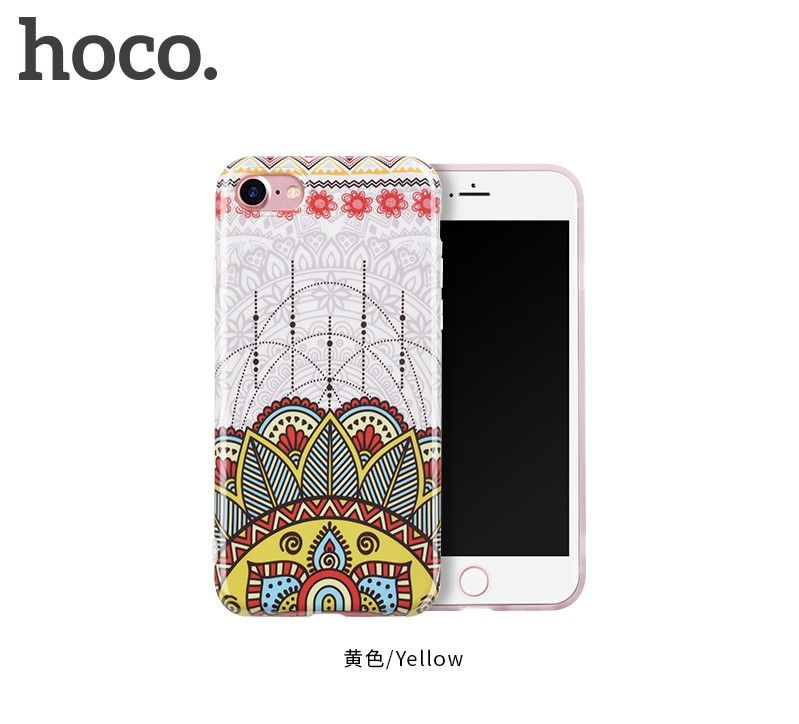 Защитный чехол HOCO Doren series для iPhone7 Plus/8 Plus, желтый