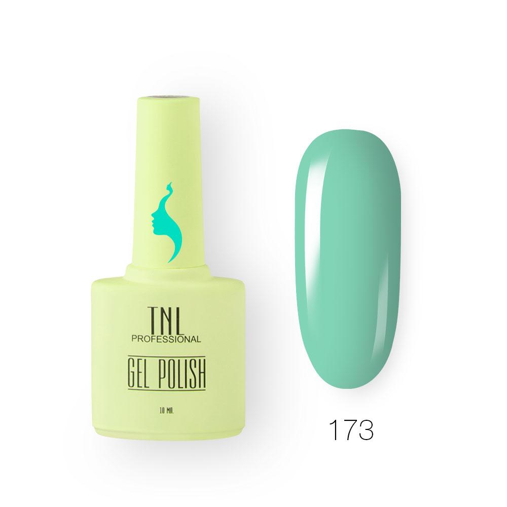 Гель-лак TNL 8 Чувств №173 - бирюзовый (10 мл.)