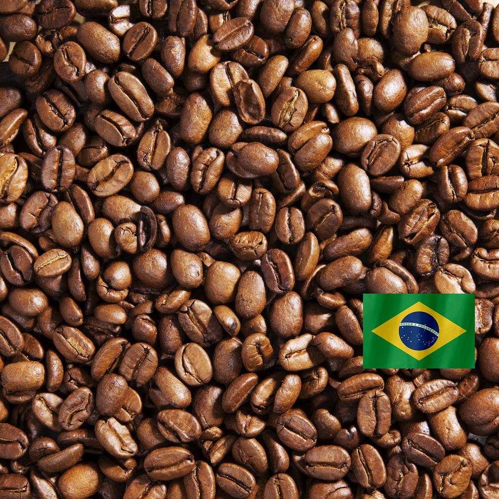 Бразилия Сантос - кофе в зернах