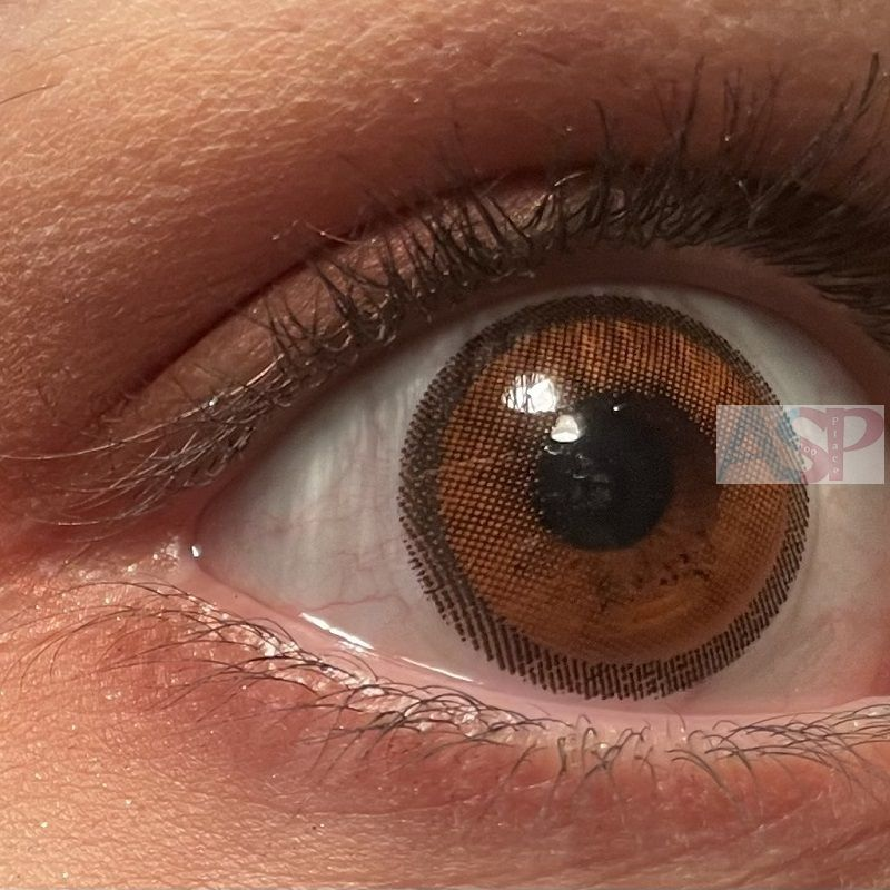 Линзы Natural (тип-3) коричневые