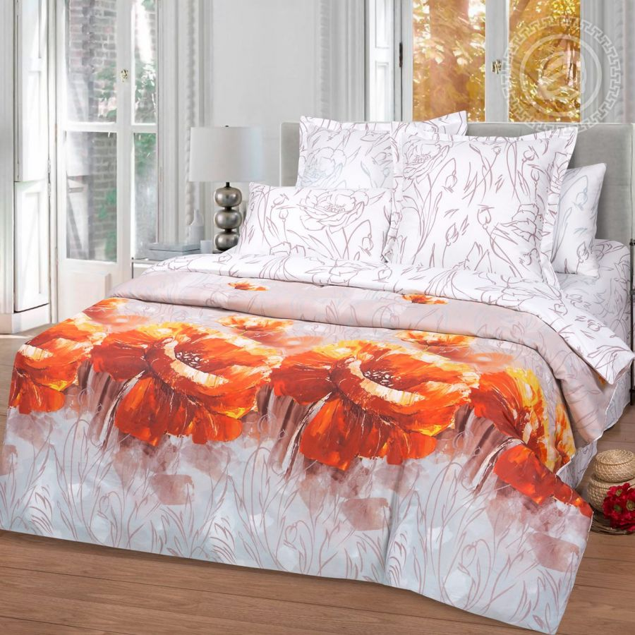 «Ассоль» постельное белье Сатин Евро