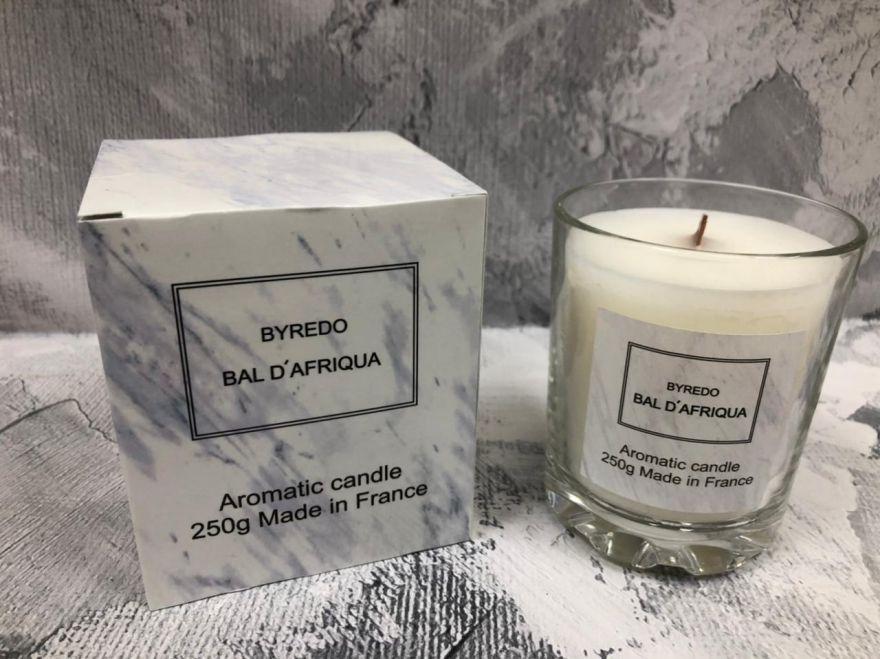 Свеча ароматическая парфюмерная  Byredo Bal D'Afrique
