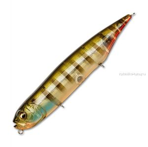 Воблер Megabass Dog-X Diamante Silent 120 120 мм / 21,2 гр / цвет: Biwako Clear Gill