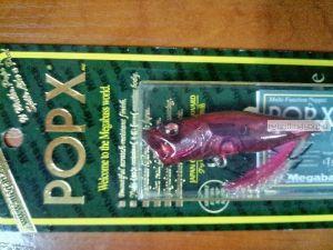 Воблер Megabass Pop-X 64 мм / 7 гр / цвет: HT OBB (JP)
