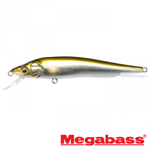 Воблер Megabass Vision 95Q-GO Slow Float 95мм / 9,8гр / Заглубление: 0,1 - 0,5 м / цвет: AL Tenryu Ayu