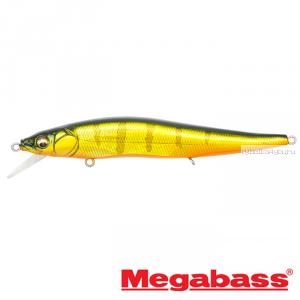 Воблер Megabass Vision Oneten FX Tour Premium 110мм / 14 гр / Заглубление: 0,5 - 1м / цвет: GG Kasumi Tiger