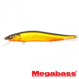 Воблер Megabass Vision Oneten FX Tour Premium 110мм / 14 гр / Заглубление: 0,5 - 1м / цвет: GG Megabass Kinkuro