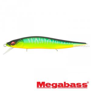 Воблер Megabass Vision Oneten Jr. 98мм / 10,5 гр / Заглубление: 0,5 - 1 м / цвет: Mat Tiger