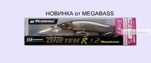 Воблер Megabass Vision Oneten R (SP-C) 110 мм / 14 гр / Заглубление: 0 - 1,7 м / цвет: AL Biwako Ayu (JM)