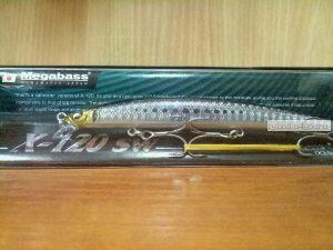Воблер Megabass X-120 SW 120 мм / 12,5гр / Заглубление: 0,4 - 0,6 м / цвет: GG Iwashi (JP)
