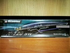 Воблер Megabass X-120 SW 120 мм / 12,5гр / Заглубление: 0,4 - 0,6 м / цвет: HT Urume (JP)