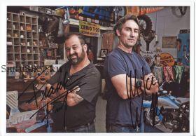 Автографы: Майк Вульф, Фрэнк Фриц. Американские коллекционеры / American Pickers