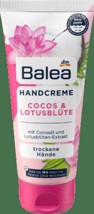 Крем для рук Balea (кокос, лотос) 100мл