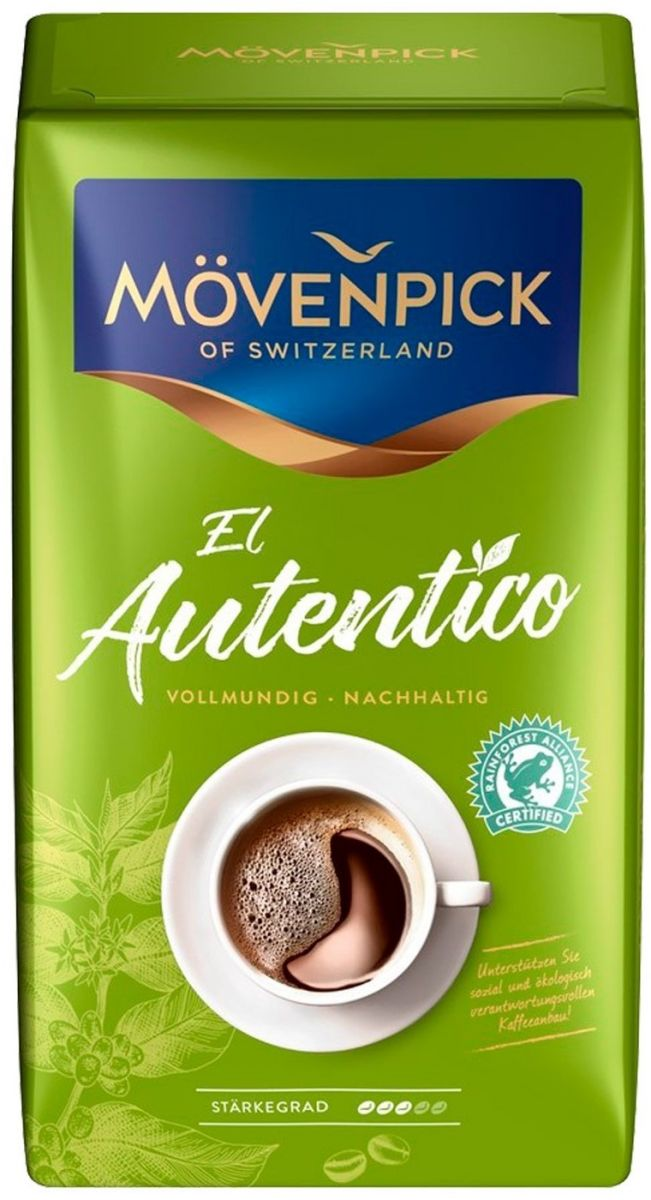 Кофе молотый Movenpick El Autentico (3) 1кг