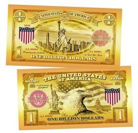 1 миллиард долларов США (One Billion Dollars USA). Памятная банкнота