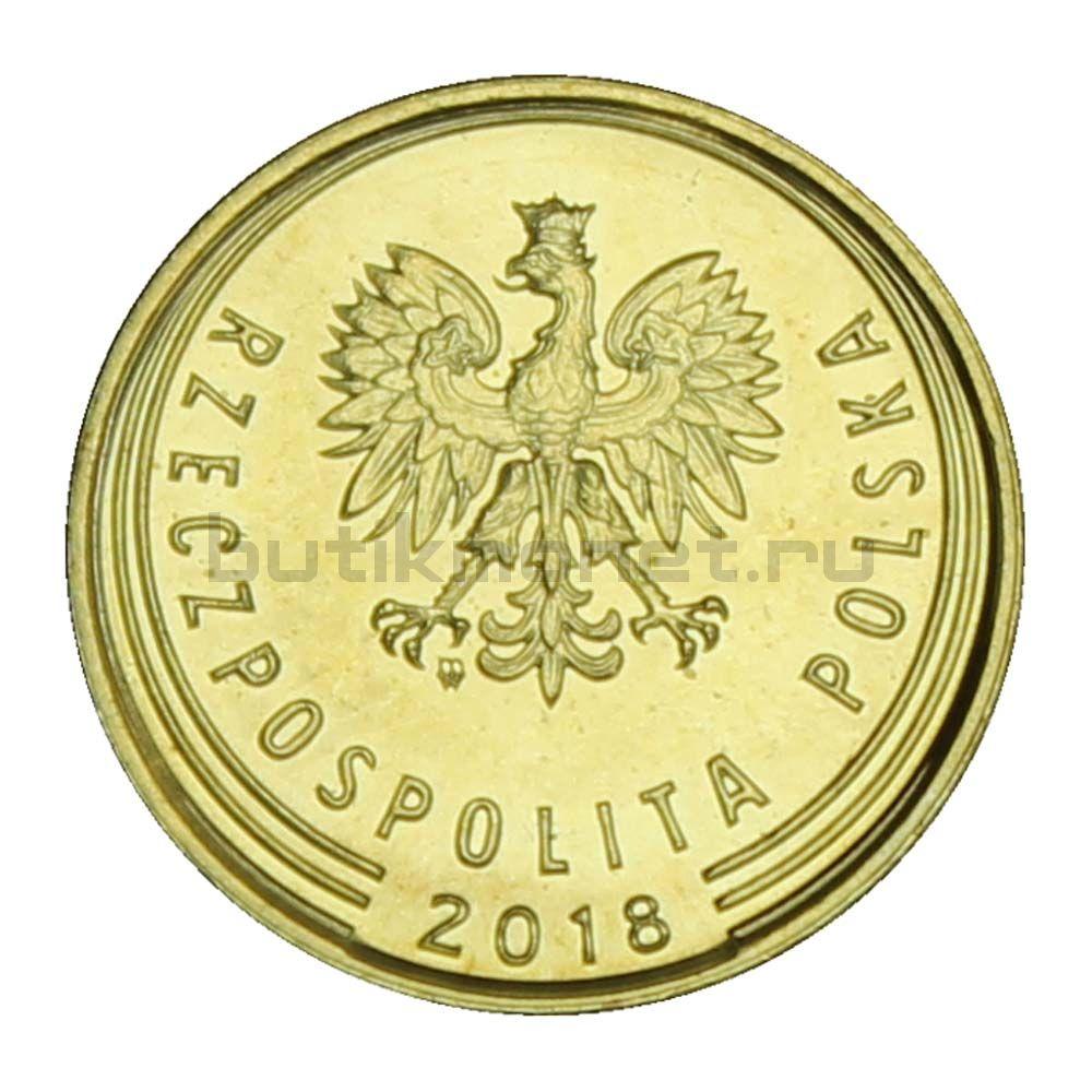 1 грош 2018 Польша