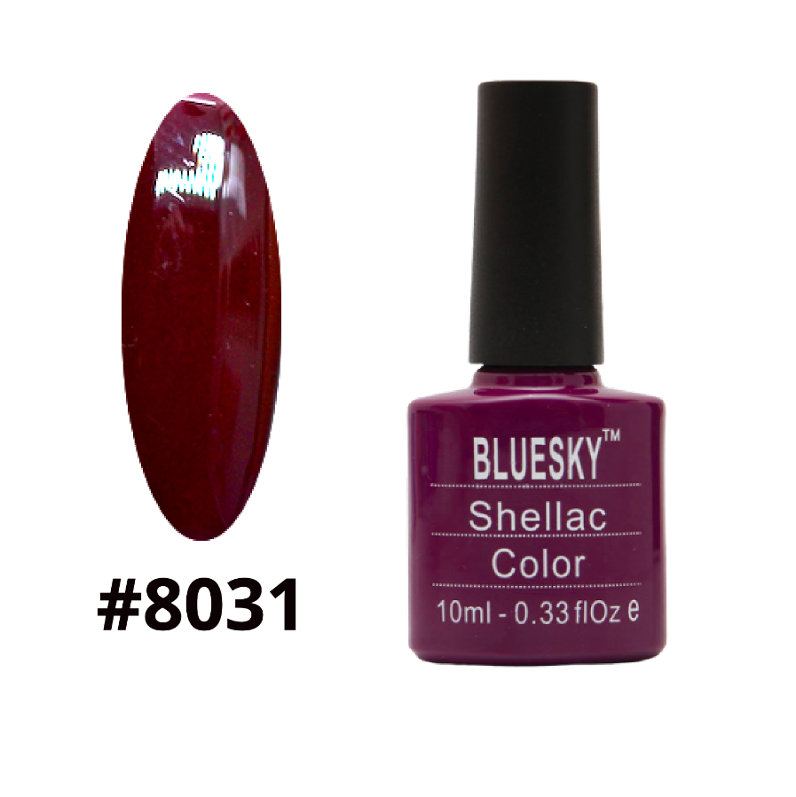 Гель-лак Bluesky Shellac Color 10ml №8031