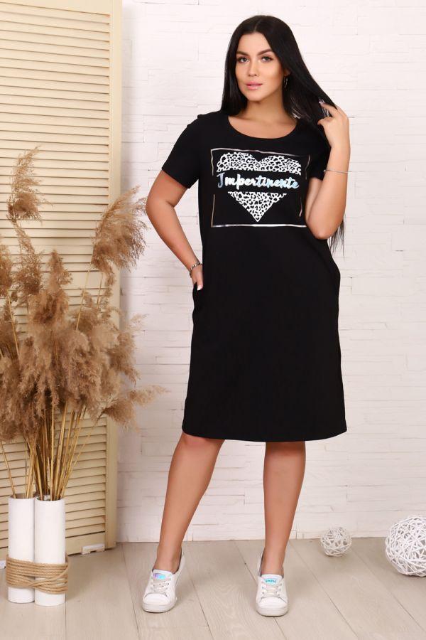 Платье 19004 [черный]