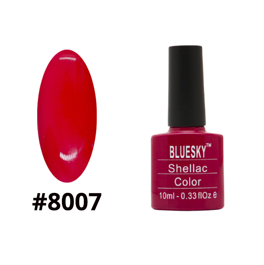 Гель-лак Bluesky Shellac Color 10ml №8007