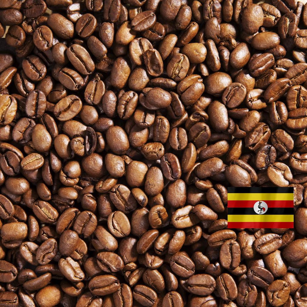 Робуста Уганда - кофе в зёрнах