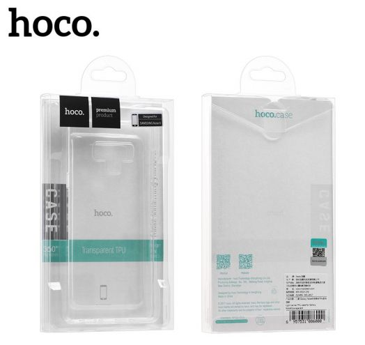 Защитный чехол HOCO Light series для Galaxy Note9, прозрачный полиуретан
