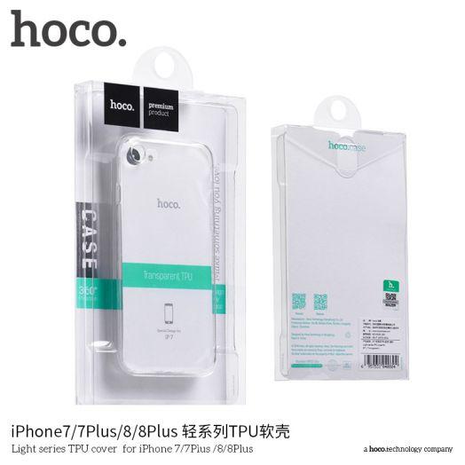 Защитный чехол HOCO Light series для iPhone6 plus/6S Plus, прозрачный полиуретан
