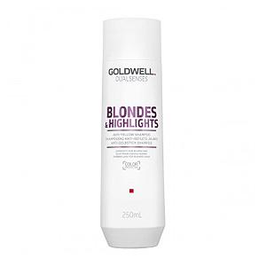 Goldwell Dualsenses Blondes and Highlights Anti-Yellow Shampoo – Шампунь против желтизны 250 мл