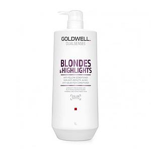 Goldwell Dualsenses Blondes And Highlights Anti-Yellow Conditioner – Кондиционер против желтизны для осветленных волос 1000 мл