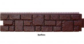 """Панель GL """"Я фасад Екатеринский камень. Цвет : Арабика, Уголь, Гречневый. Размер: 1322*294мм"""