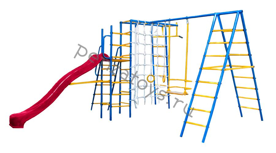 Игровая детская площадка-комплекс Kampfer Total Playground