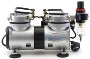 Компрессор Jas 1205, с регулятором давления, автоматика, два режима работы, два цилиндра