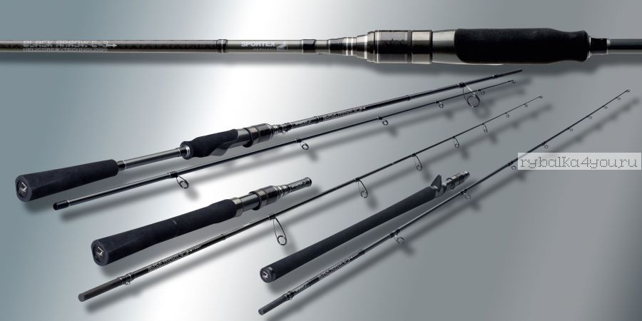 Удилище кастинговое Sportex Black Arrow G-3 BA2434 (Baitcast) 2,40m 21-95