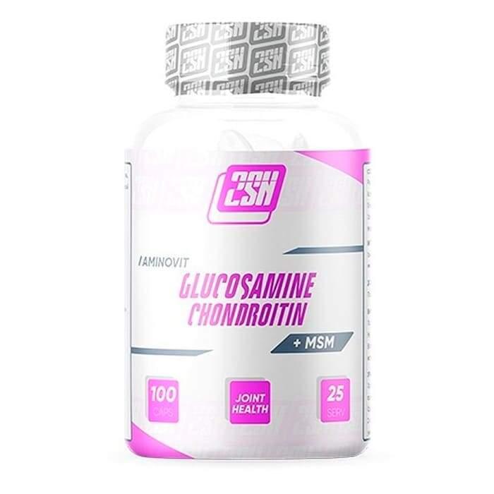 2SN Glucosamine Chondroitin + MSM 120капсул
