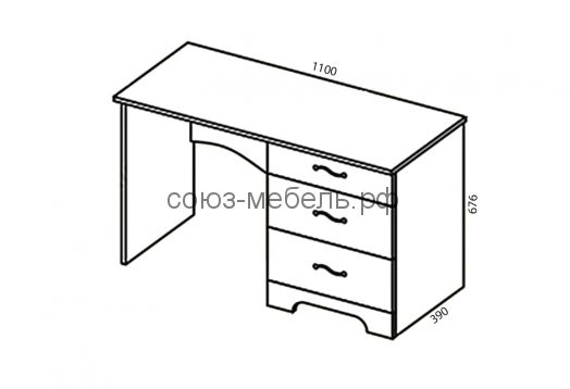 Спальня Сорренто (комод КМ+стол СТ+зеркало Z+шкаф-купе ШК+тумба ТБ+кровать КР-2 (п. место 1600х2000)+тумба ТБ)