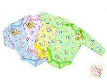 """Боди для новорожденных с длинным рукавом (супрем) C-BD032-SU код товара 01488 """"Мамин Малыш"""" (цвет в ассортименте)"""