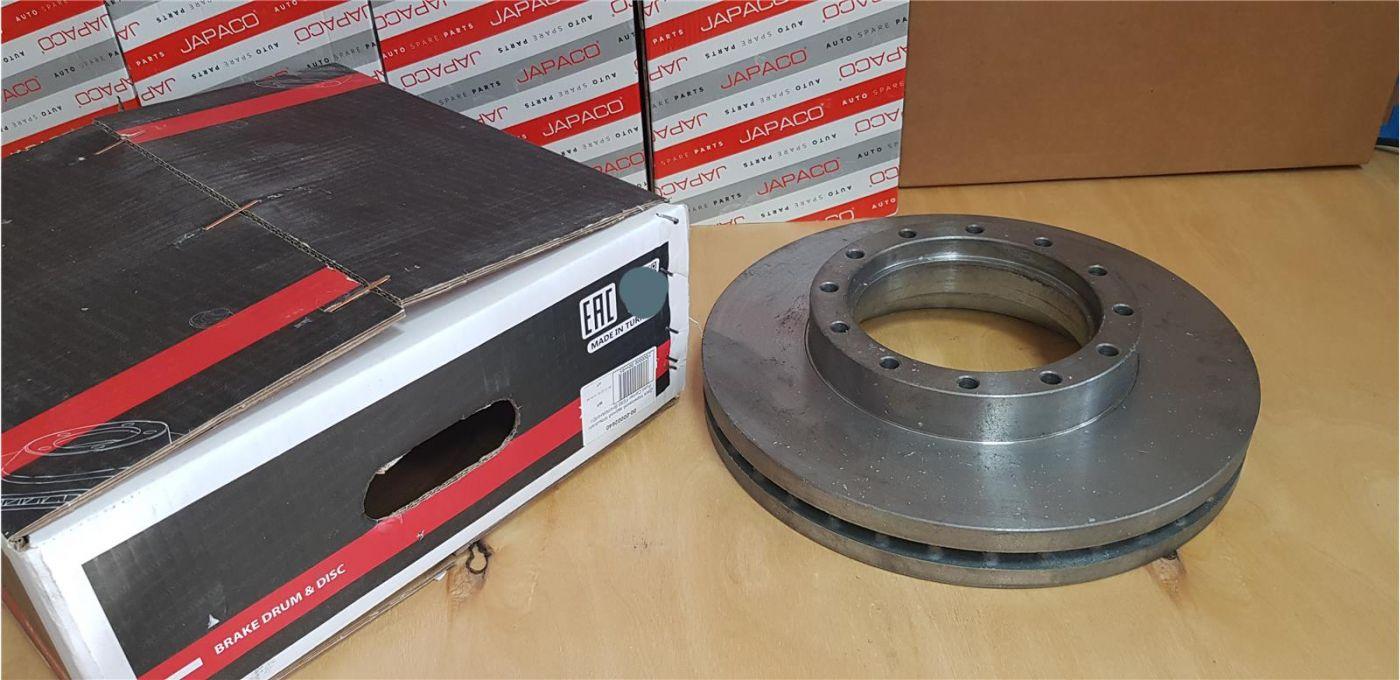 Ступица передняя ISUZU NQR90 барабанные пневмо тормоза
