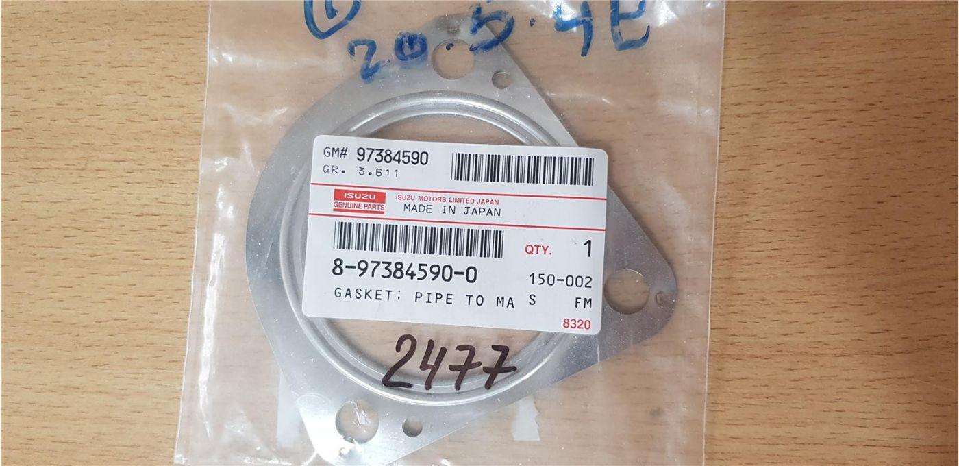 Прокладка глушителя Isuzu NMR85 Евро 4