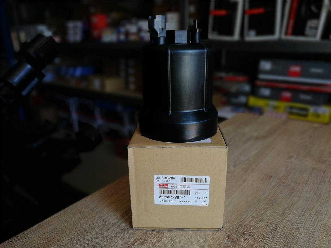 Корпус (стакан) топливного фильтра тонкой очистки ISUZU NPR75 NQR90 NLR85