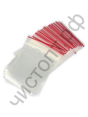 Пакет ЗИП 8см*12см (ZIP-Lock) (за упак.100) Aviora
